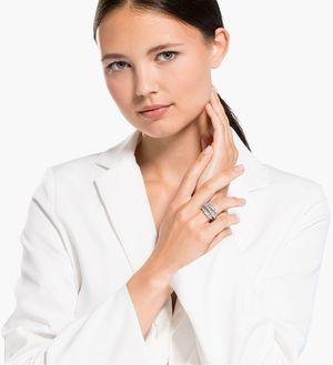 Коктейльное кольцо Swarovski TWIST 5584650 52