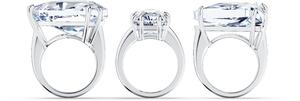 Коктейльное кольцо Swarovski MESMERA 5610385 52