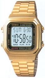 Часы CASIO A178WGA-1ADF - Дека