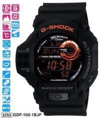 Часы CASIO GDF-100-1BER - Дека