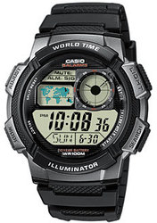 Годинник CASIO AE-1000W-1BVEF - ДЕКА