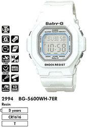 Часы CASIO BG-5600WH-7ER - Дека