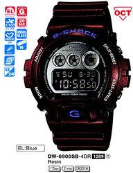 Часы CASIO DW-6900SB-4ER - Дека