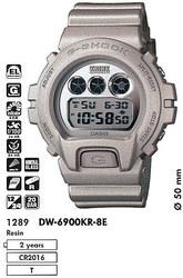 Часы CASIO DW-6900KR-8ER - Дека