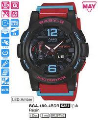 Часы CASIO BGA-180-4BER - Дека