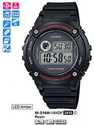 Часы CASIO W-216H-1AVEF - Дека