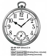 Часы CASIO IQ-66-8DF - Дека