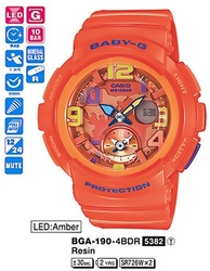 Часы CASIO BGA-190-4BER - Дека