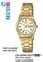 Годинник CASIO LTP-V006G-9BUDF - Дека