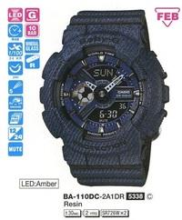 Годинник CASIO BA-110DC-2A1ER - Дека