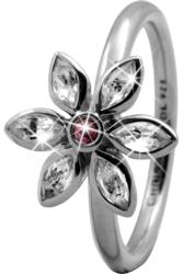 Кольцо CC 800-3.6.A/61 Marquise Flower silver  - Дека