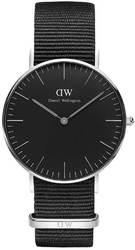 Часы Daniel Wellington DW00100151 Black Cornwall 36 - Дека