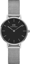 Часы Daniel Wellington DW00100218 Classic Petite Sterling Black 28 - Дека