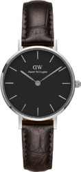 Часы Daniel Wellington DW00100238 Classic Petite 28 York S Black - Дека