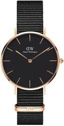 Часы Daniel Wellington DW00100215 Petite 32 Cornwall RG Black - Дека